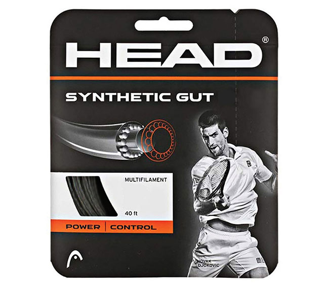Head Synthetic Gut 17g (Black)