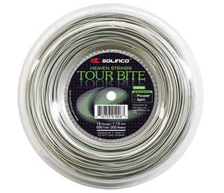 Solinco Tour Bite (Silver) Reel-656'