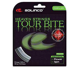 Solinco Tour Bite Diamond Rough (Silver)