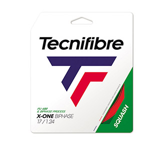 Tecnifibre X-One Biphase Squash - Red