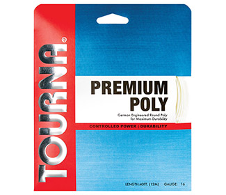 Tourna Premium Poly (White)