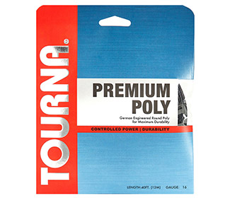 Tourna Premium Poly (Black)