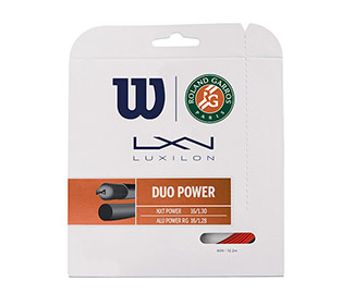 Wilson Duo Power Roland Garros (16L/16g) (Red)