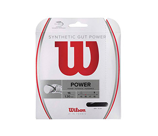 Wilson Synthetic Gut Power (Black) 16g