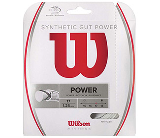 Wilson Synthetic Gut Power 17g (White)
