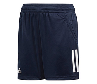 adidas Boys 3-Stripes Club Short (Navy)