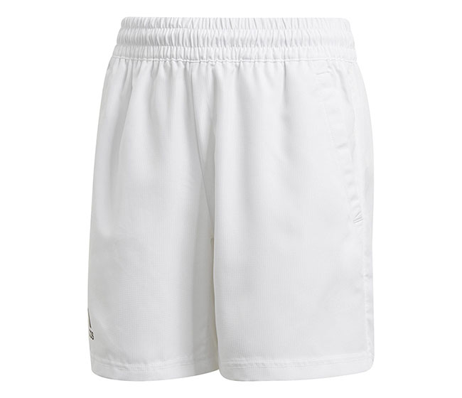 adidas Boys Club Short (White)