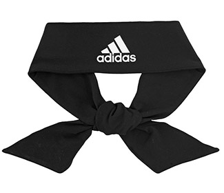 adidas Alphaskin Tie Headband (Black)