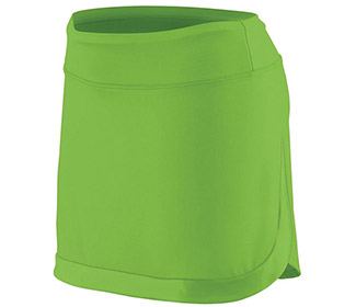 Augusta Color Block Skirt (W) (Lime)
