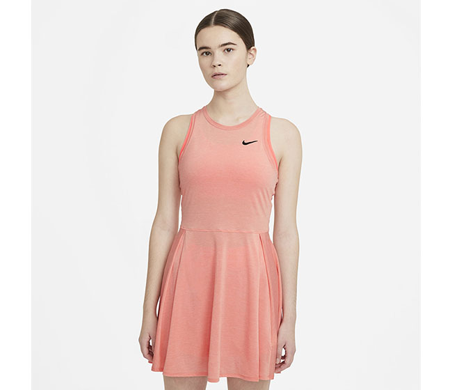 Nike Court DriFit Advantage Dress (W) (Peach)
