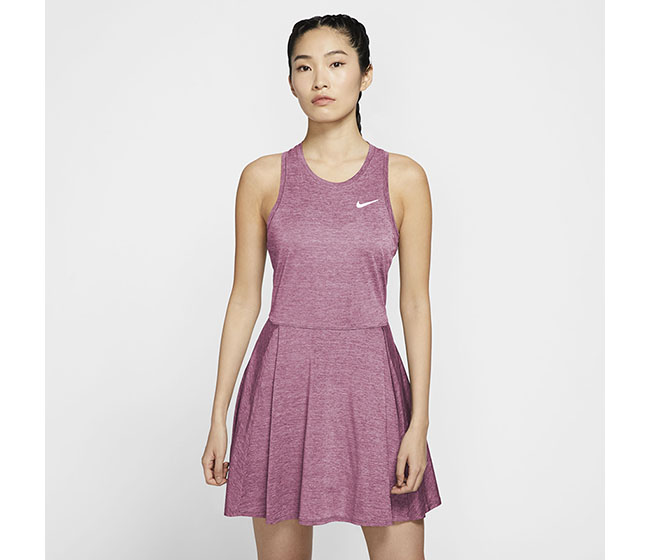 Nike Court DriFit Advantage Dress (W) (Pink)