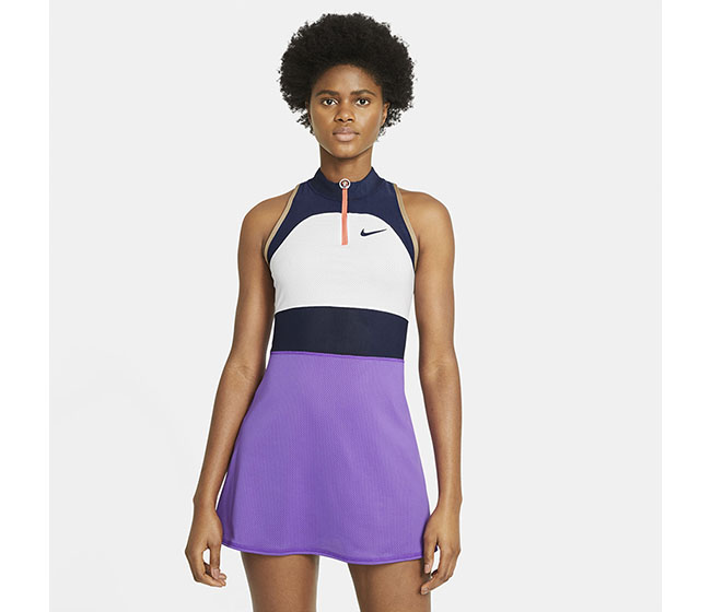 Nike Court Slam Dress Melbourne (W) (White/Purple)