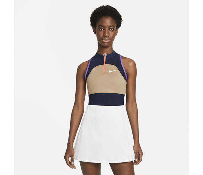 Nike Court Slam Dress Melbourne (W) (Beige/White)