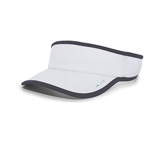 Pacific Lite Active Visor (U) (White/Grey)