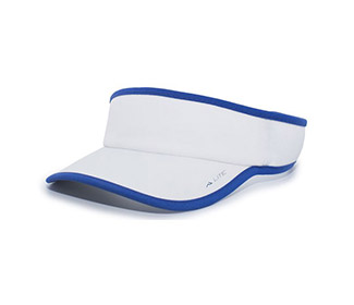 Pacific Lite Active Visor (U) (White/Royal)