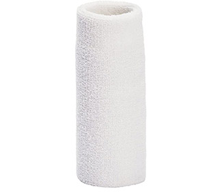 "Tourna Wrist Towel 6"" (1X) (White)"