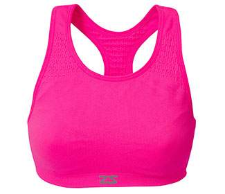 Zensah Seamless Sports Bra (Pink)