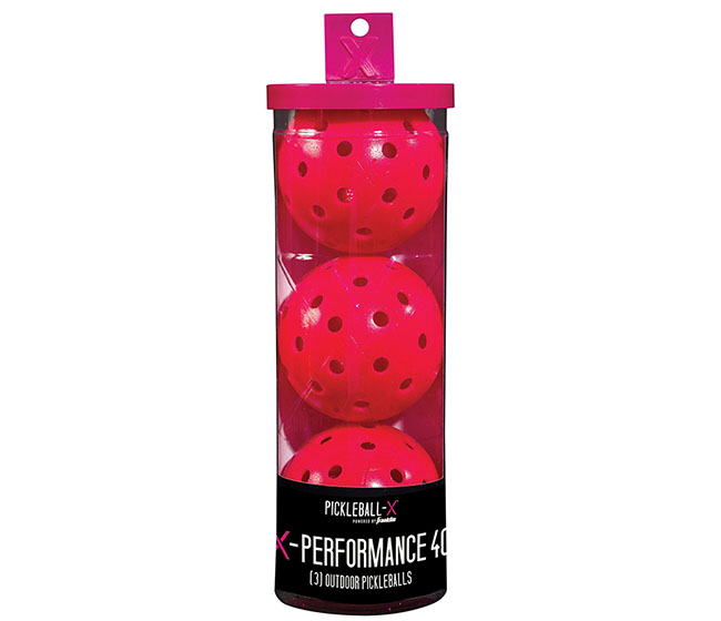 Franklin X-40 Pickleball (3x)(Pink)