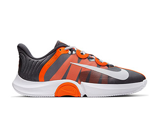 Nike Court Air Zoom GP Turbo (M) (Grey/Orange)