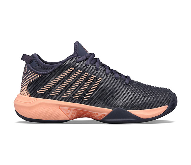 K-Swiss Hypercourt Supreme (W) (Dark Grey/Peach)