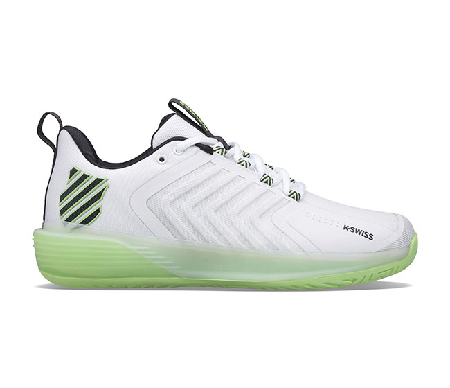 K-Swiss Ultrashot 3 (M) (White/Neon Green)