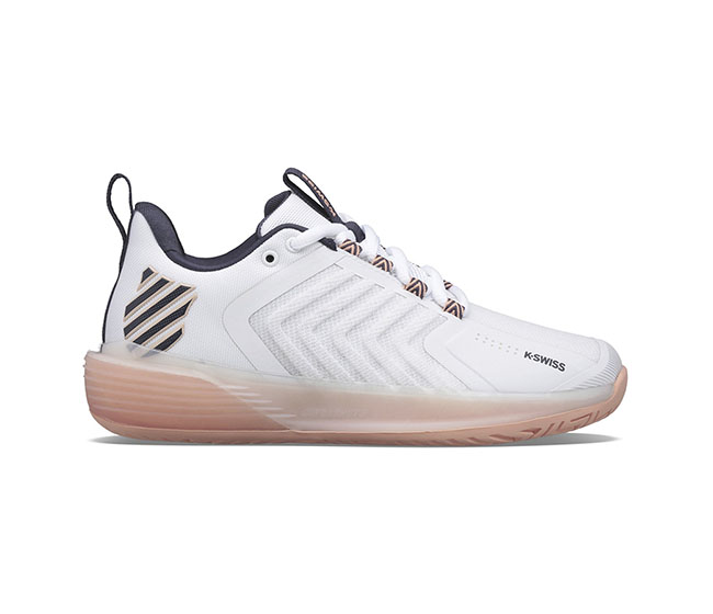 K-Swiss Ultrashot 3 (W) (White/Peach)
