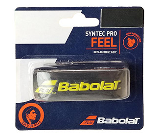 Babolat Syntec Pro Grip (1x) (Black/Yellow)