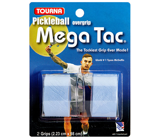 Tourna Mega Tac Pickleball Overgrip (2x) (Blue)