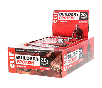 Clif Bar Builders (Chocolate) (12/Case)