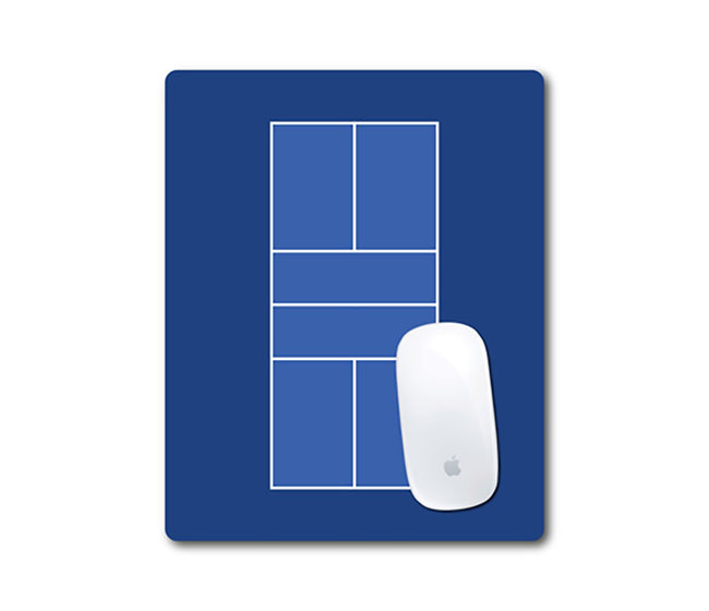 Pickleball Court Mouse Pad