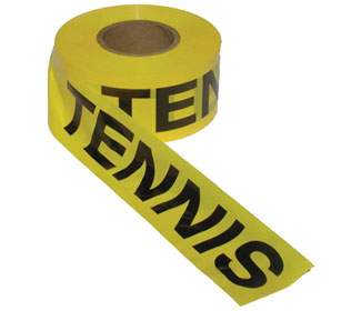 QuickStart Tennis Caution Tape Roll