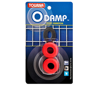 Tourna O-Damp Vibration Dampeners (2x) (Red)