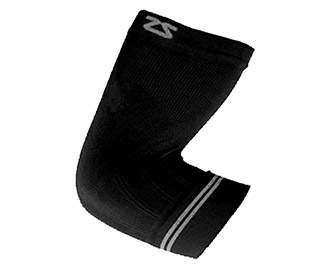 Zensah Elbow Compression Sleeve (1X) Black