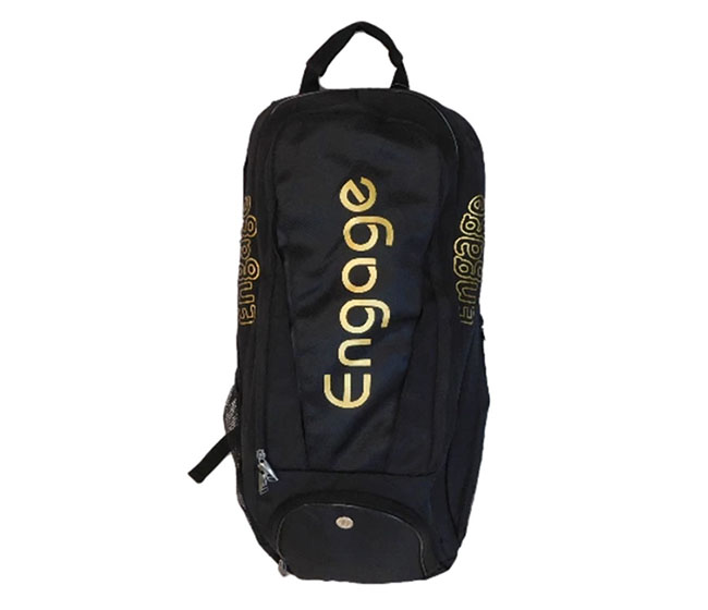 Engage Pickleball Players Backpack (Black/Gold)