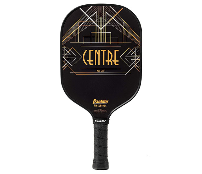 Franklin Aspen Kern Centre Carbon Fiber Pickleball Paddle (Black)