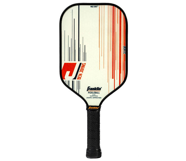 Franklin Ben Johns Pro Player Pickleball Paddle (16mm) (White)