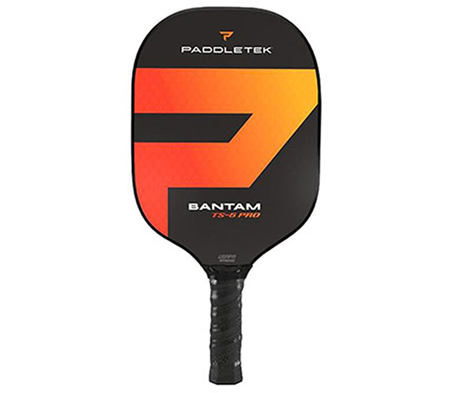 Paddletek Bantam TS-5 Pro Pickleball Paddle (Standard) (Red)