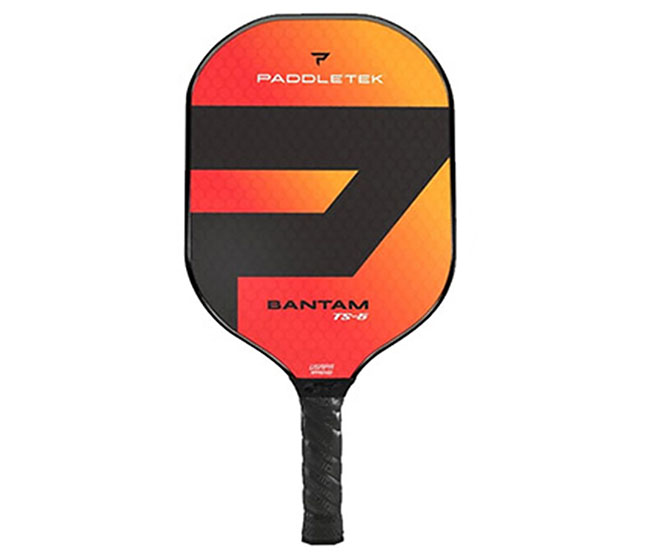 Paddletek Bantam TS-5 Pickleball Paddle (Red)