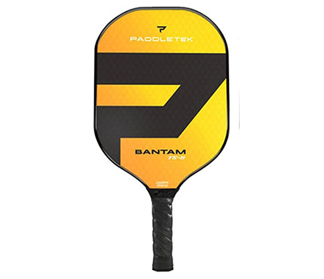 Paddletek Bantam TS-5 Pickleball Paddle (Yellow)