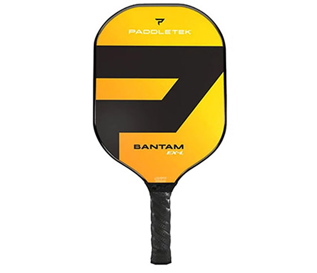 Paddletek Bantam EX-L Pickleball Paddle (Yellow)