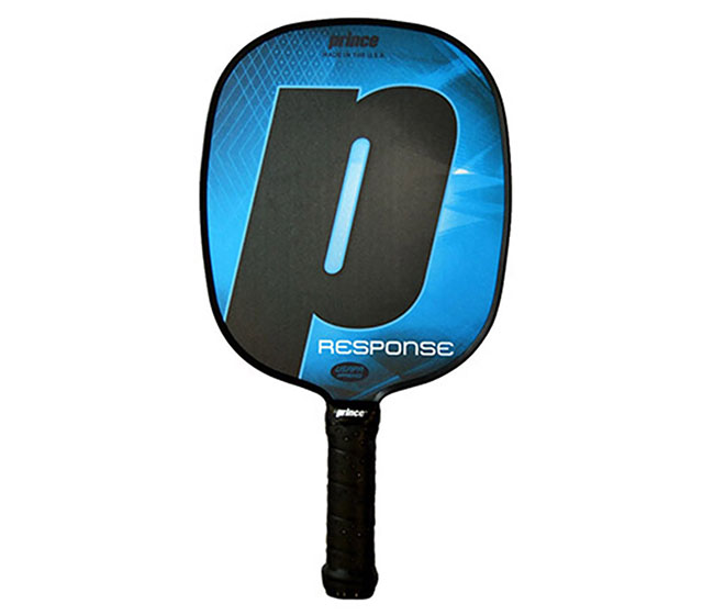 Prince Response Standard Grip Pickleball Paddle (Blue)