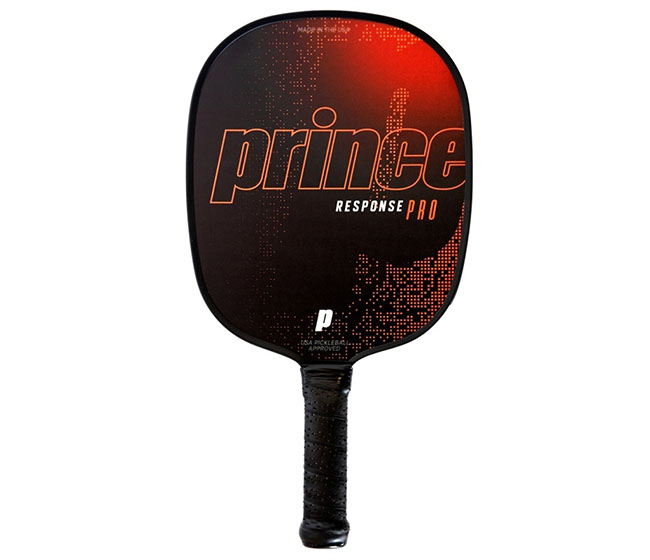 Prince Response Pro Thin Grip Pickleball Paddle (Red)