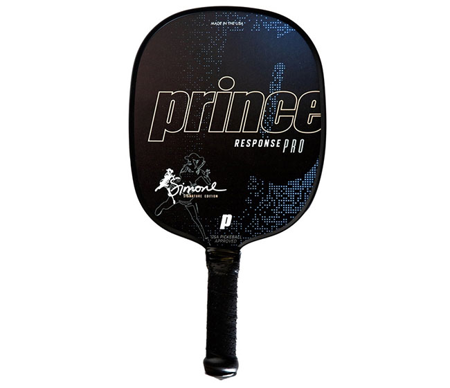 Prince Response Pro Simone Jardim Thin Grip Pickleball Paddle (Blue)