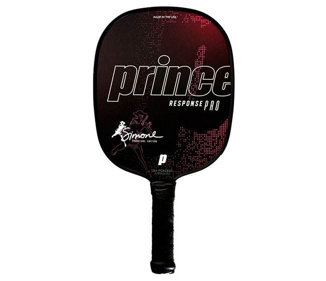 Prince Response Pro Simone Jardim Thin Grip Pickleball Paddle (Pink)