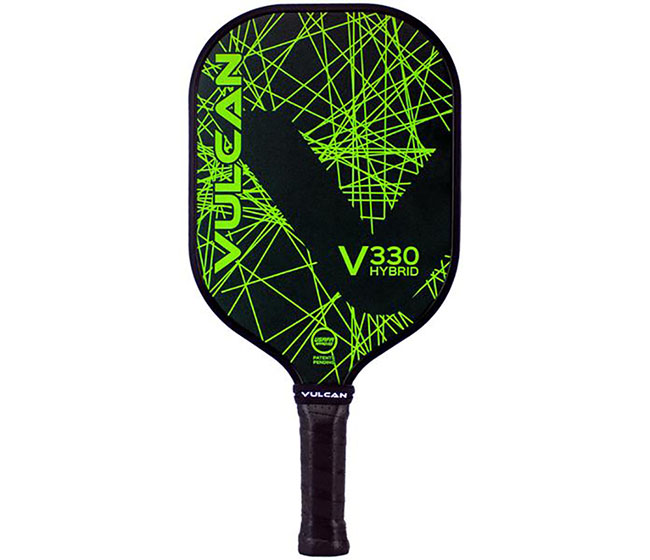 Vulcan V330 Hybrid Pickleball Paddle (Lime Lazer)