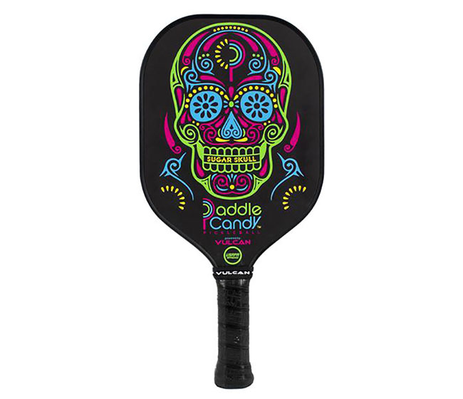 Vulcan V510 Paddle Candy Pickleball Paddle (Sugar Skull)