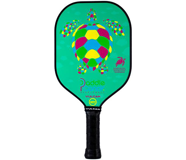 "Vulcan V520 Paddle Candy ""Sea Turtle"" Pickleball Paddle"