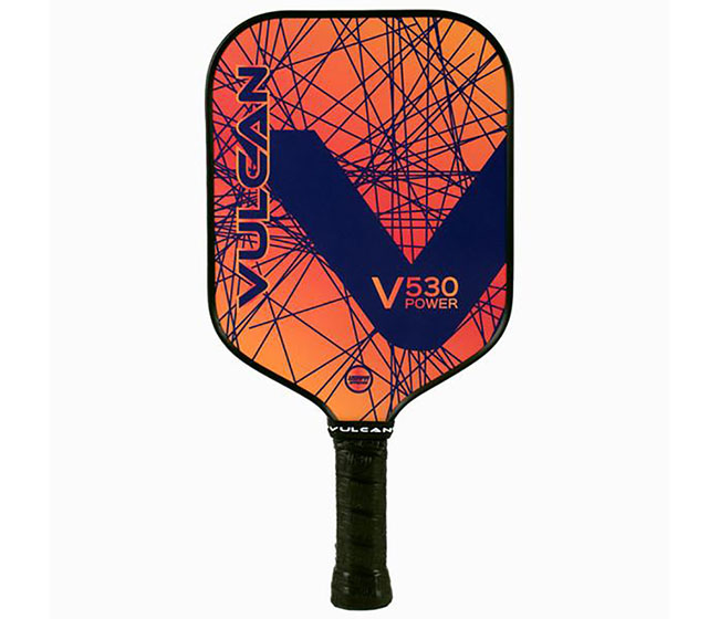 Vulcan V530 Pickleball Paddle (Navy Lazer)